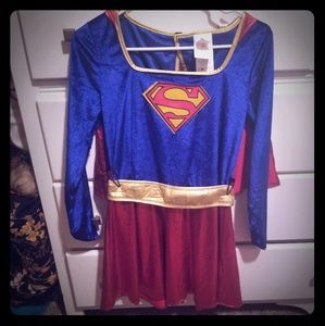 Supergirl womens costume